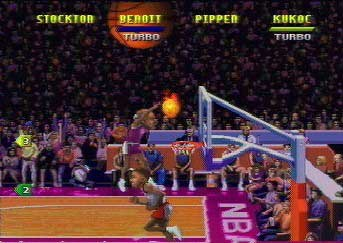 NBA Jam TE for the Atari Jaguar 64